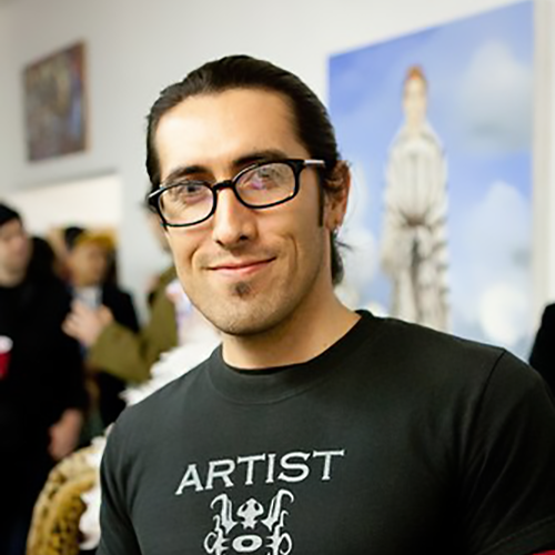 Master Omar Morineau - Oam Studios founder, lead instructor, and art school director.