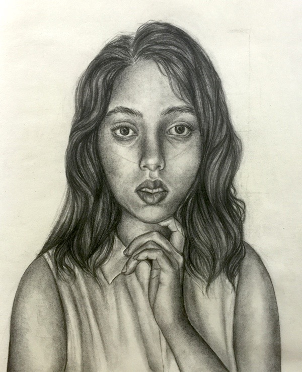 Asha - Self-portrait
