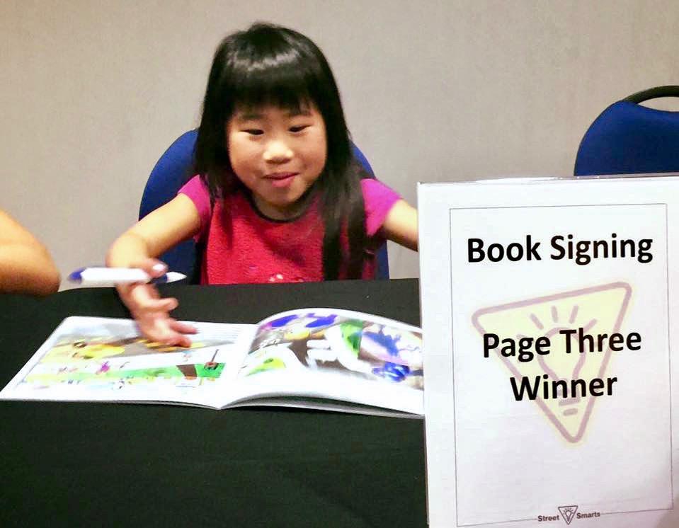 Sage Lu Book Signing - Street Smart Art Competition
