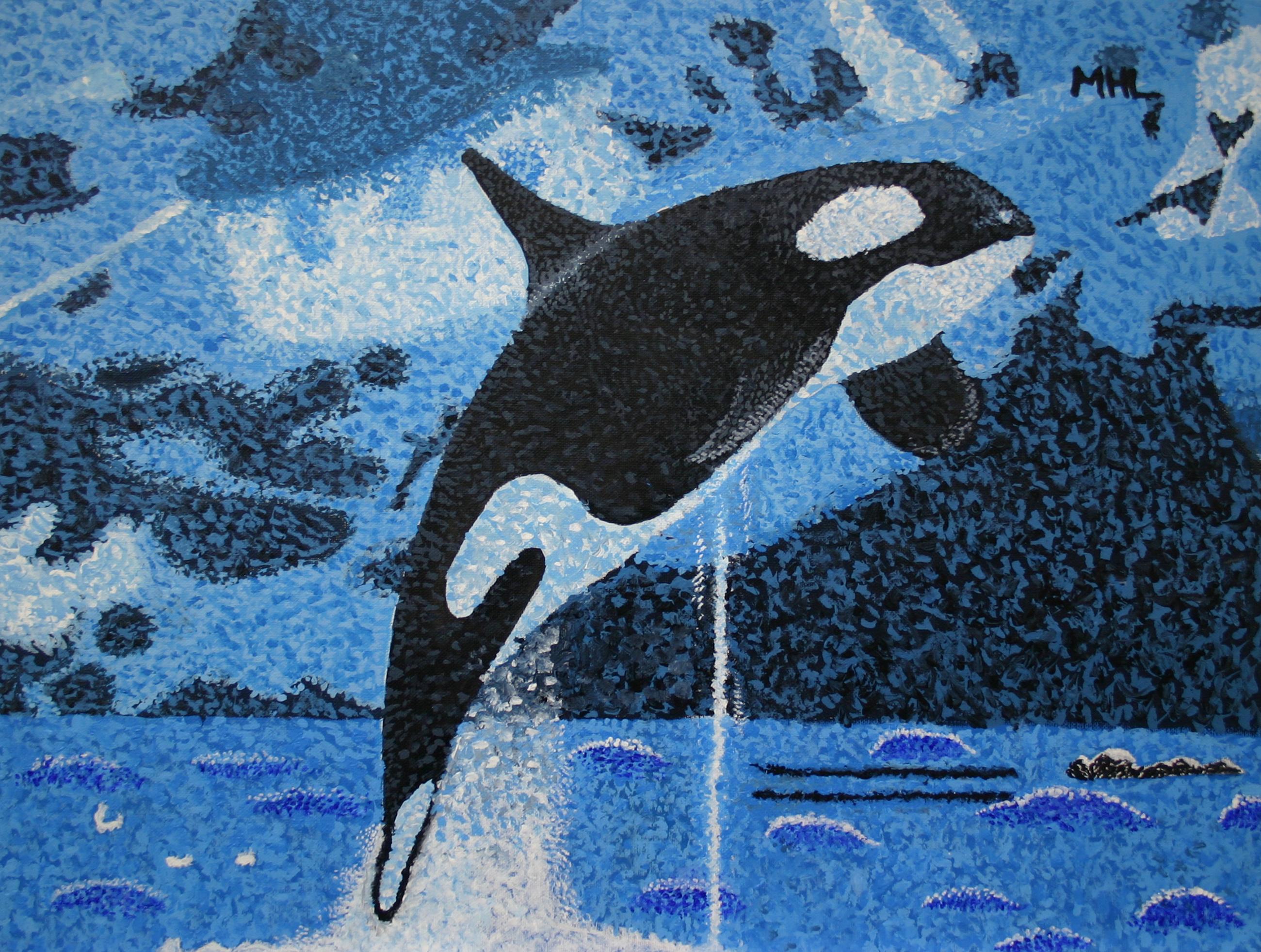 Morgan Lee - Breaching Orca